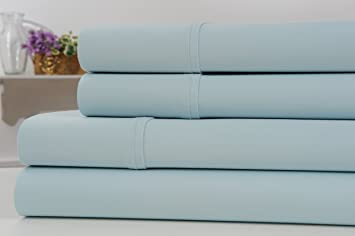 kathy ireland gallery thread count egyptian quality cotton rich 4 piece sheet set 6