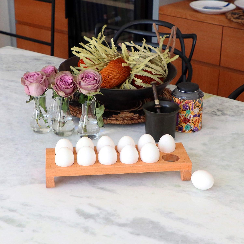 Contenitore per uova in legno Contenitore Scatola Hotel Caff/è gourmet Tavolo da cucina decorativo Accessorio per controsoffitto per la casa