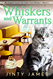 Whiskers and Warrants : A Norwegian Forest Cat Café Cozy Mystery - Book 3