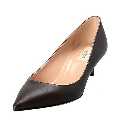 c5819ff82c63f Image Unavailable. Image not available for. Color: Valentino Garavani  Women's Rockstud Brown High Heel Pumps ...