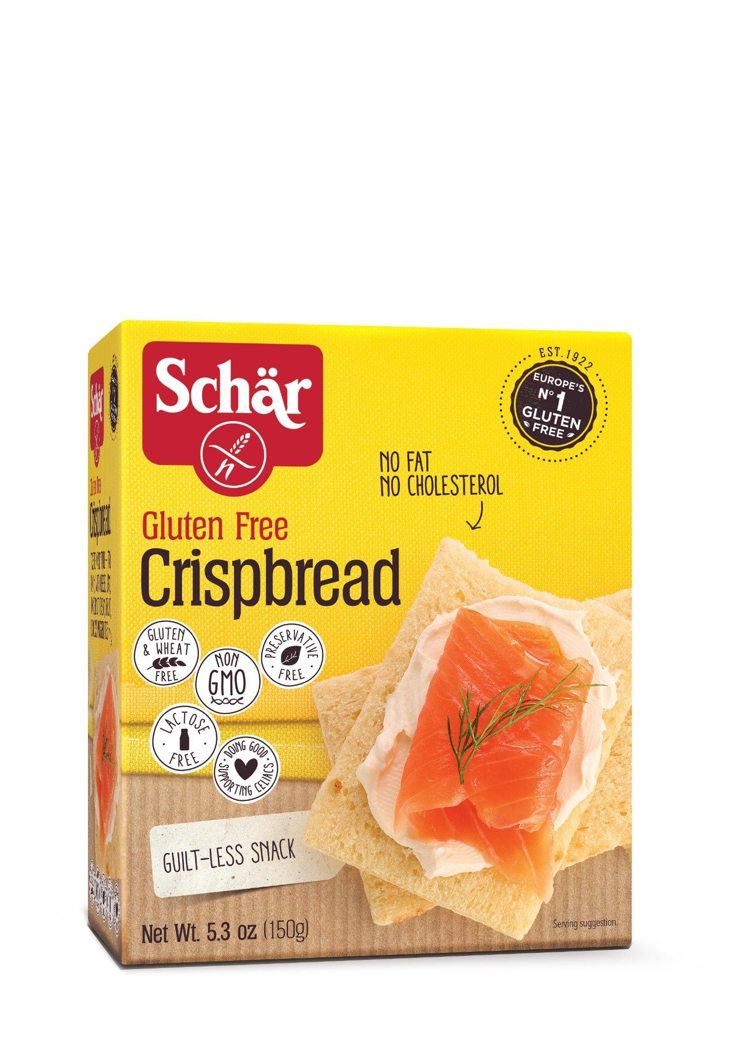 Schar Crispbread, 5.3-Ounce (Pack of 6) by Schar