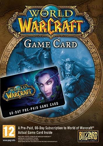World of Warcraft - Tarjeta de prepago (60 días) (Código ...