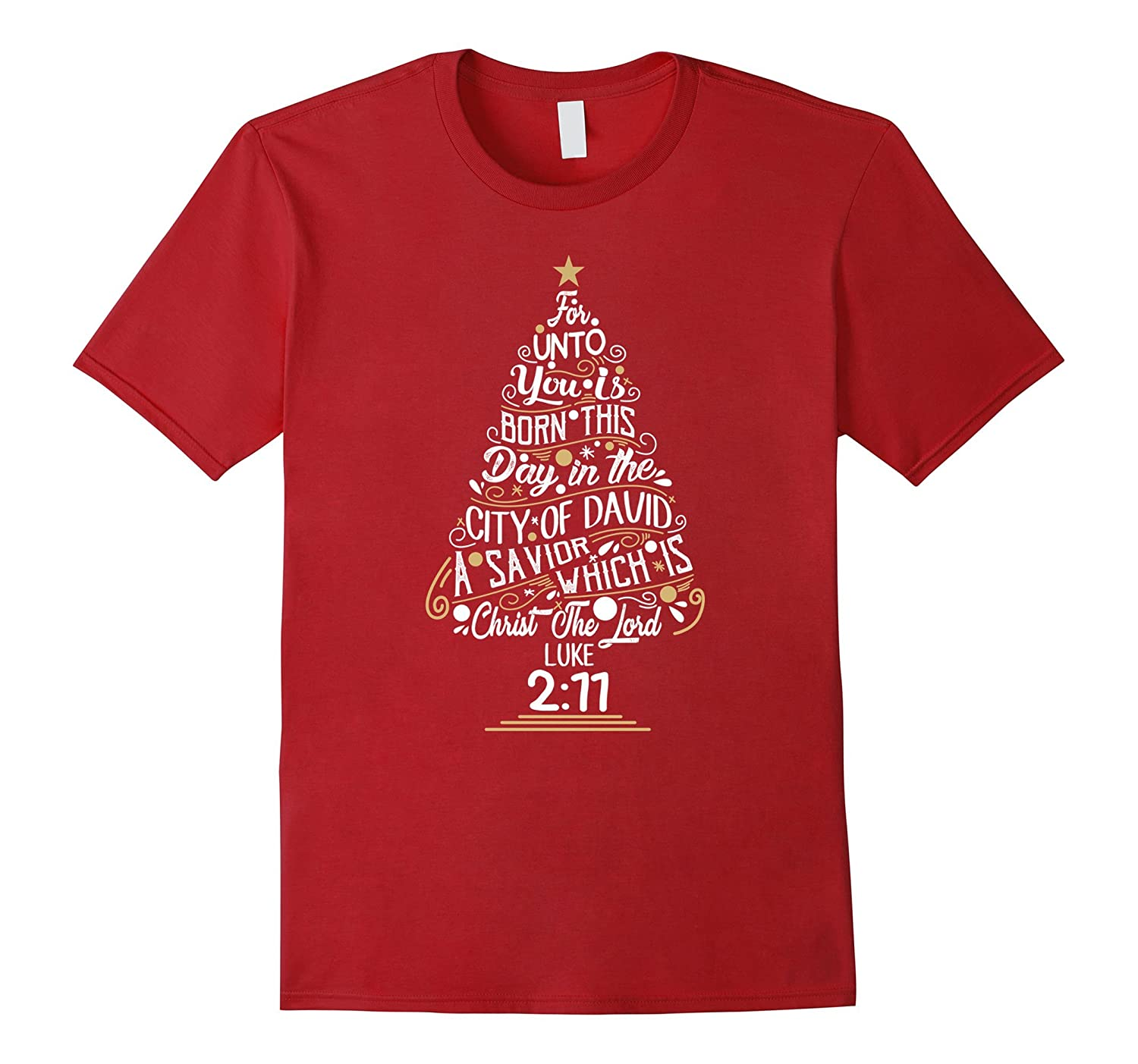 christmas tree t shirt bible scripture quote for women men anz