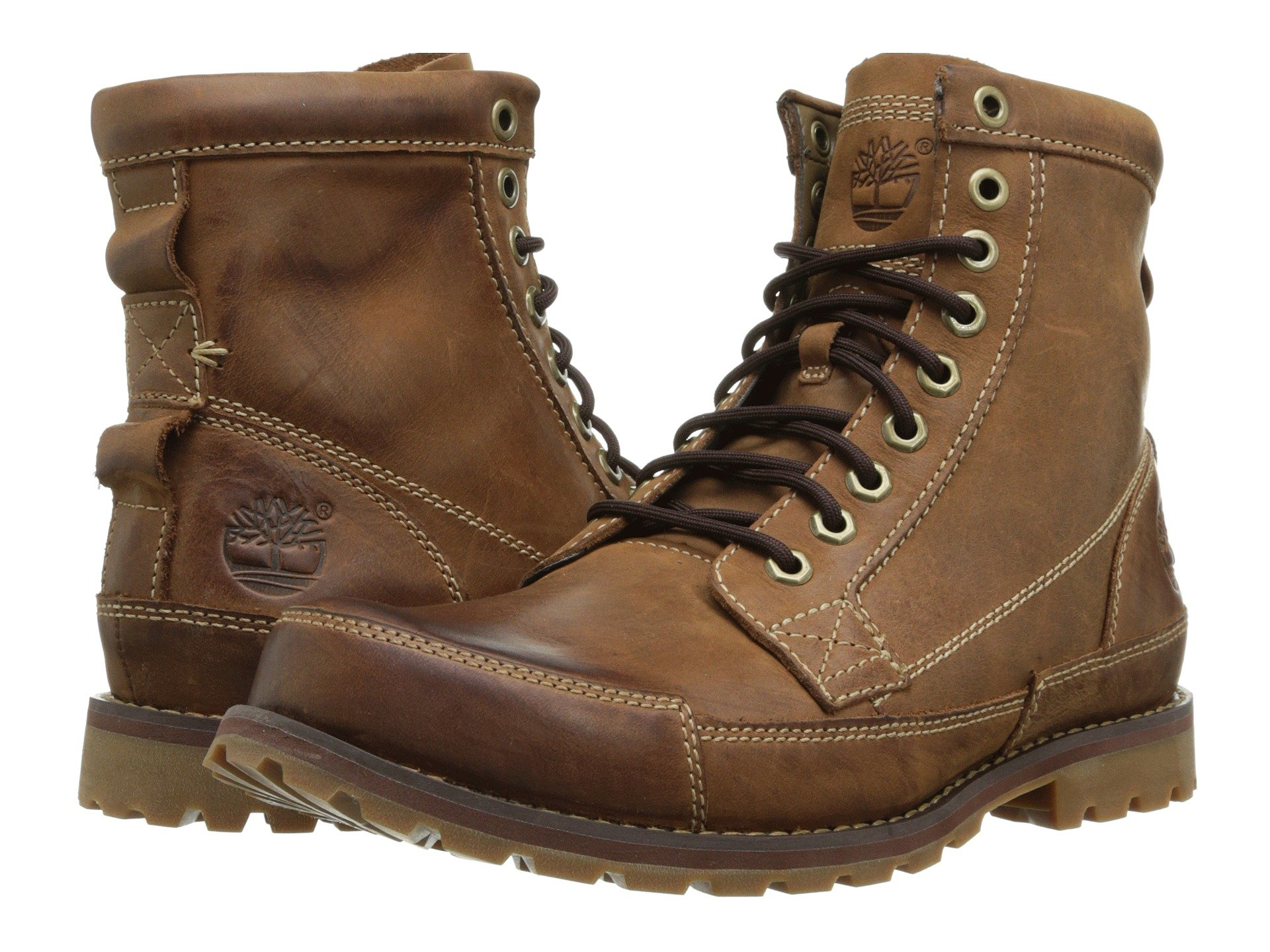 Timberland Men's Earthkeepers 6'' Lace-Up Boot (14 D(M) US, Medium Brown/Full Grain)