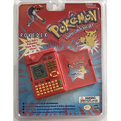 Pokemon Pokedex Organizer Electronic Handheld Game: Toys & Games
