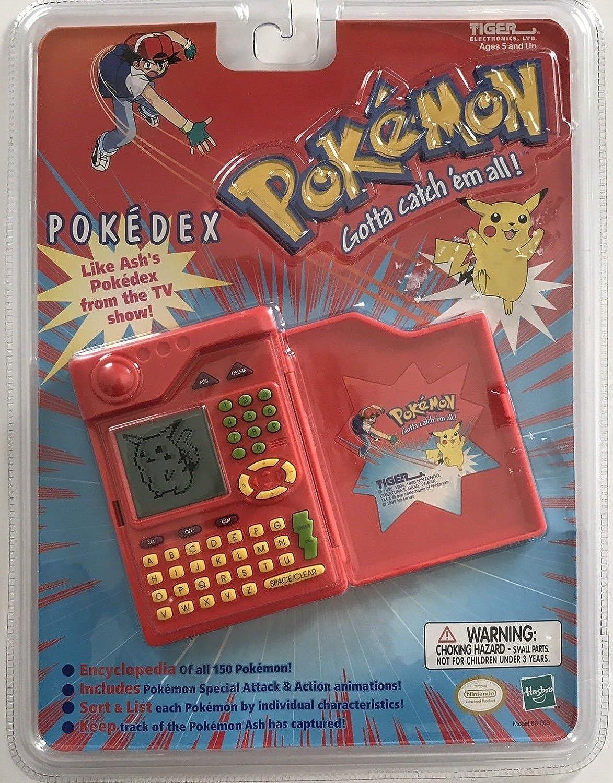 78d2e839bcab2a Amazon.com  Pokedex Tiger Pokemon Organizer Talking Electronic Handheld Game   Toys   Games