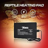 iPower 6 by 8-Inch 8 Watt Reptile Heat Pad Under Tank Terrarium Heater Heat Mat for Small Animals