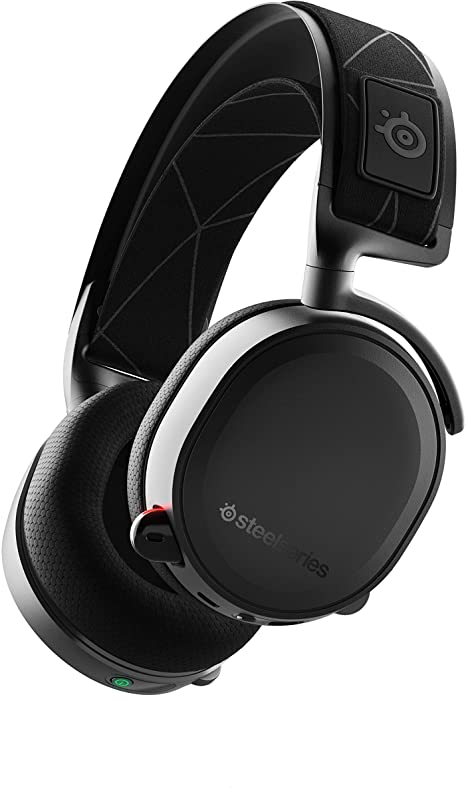 Amazon Com Steelseries Arctis 7 Lossless Wireless Gaming Headset With Dts Headphone X V2 0 Surround For Pc And Playstation 4 Black Computers Accessories