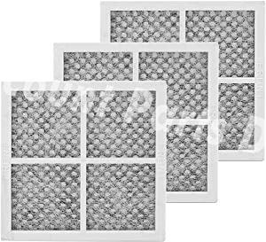 Pack of 3 LT120F Replacement Air Filter for LG Refrigerator, Replaces 469918 ADQ73214404