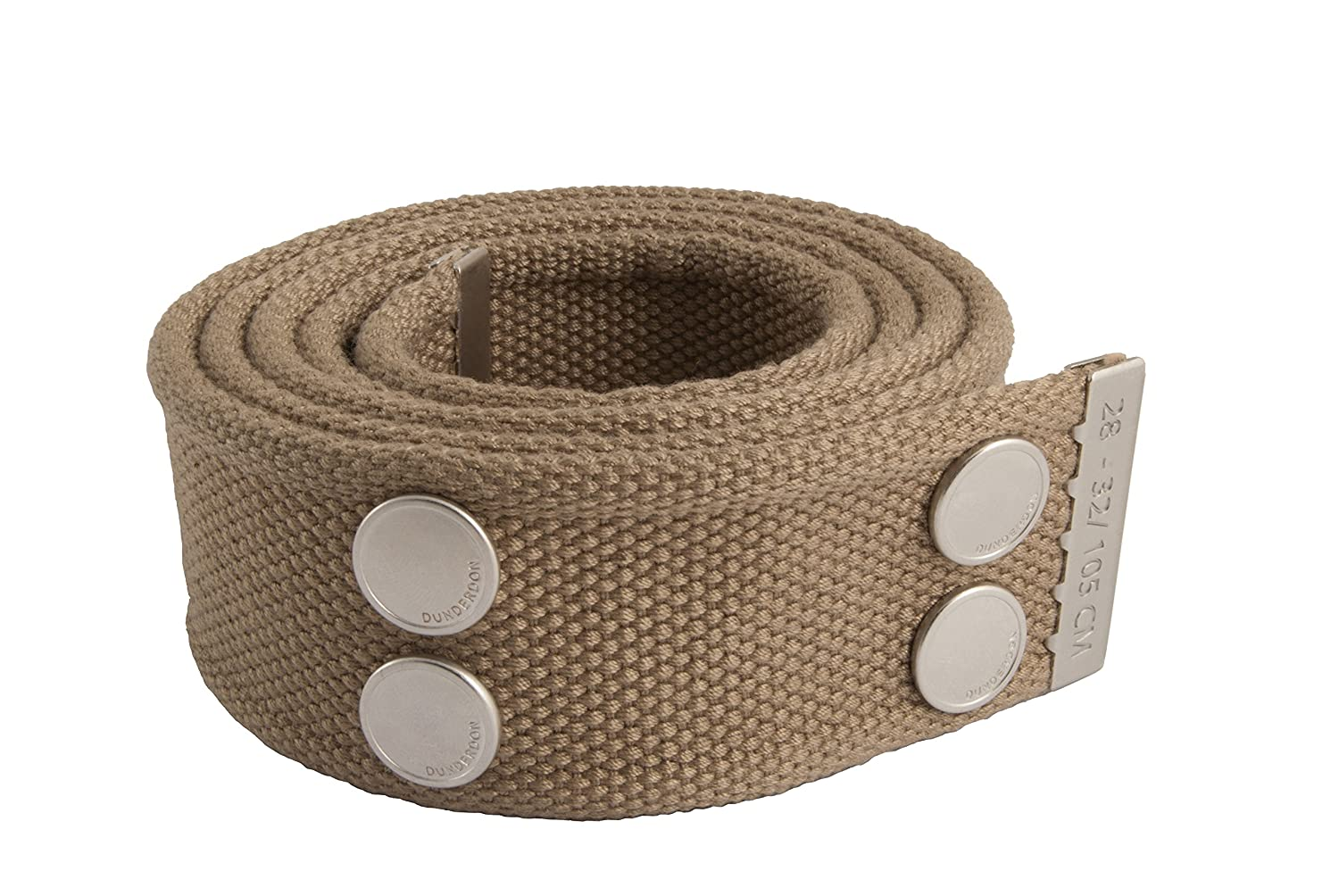 Snickers DW80016227140005BE01 Belt Khaki//Silver 28//32 Dunderdon