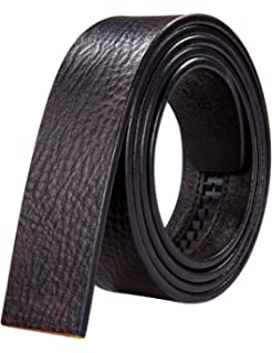 Mahogany Genuine Full Grain Soft Leather Interchangeable Belt Strap STRAP ONLY Special offer complimentary simple buckle