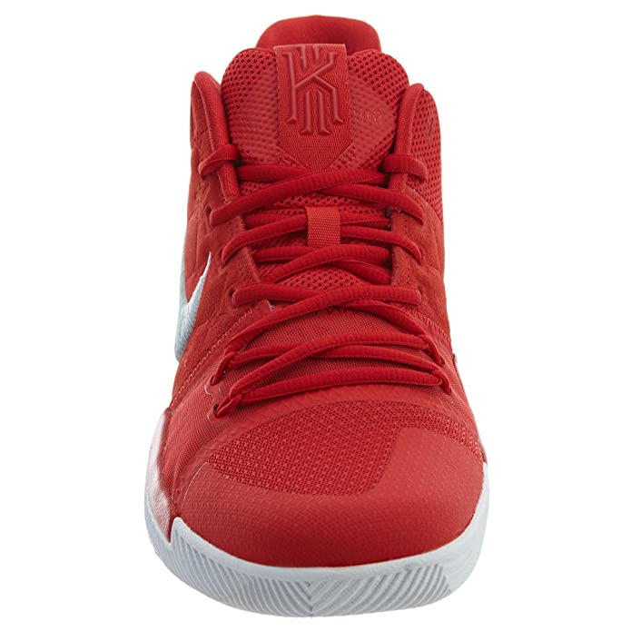 brand new 47fba 56abb ... best price amazon nike kyrie 3 basketball shoes kyrie irving mens  university red grey white new