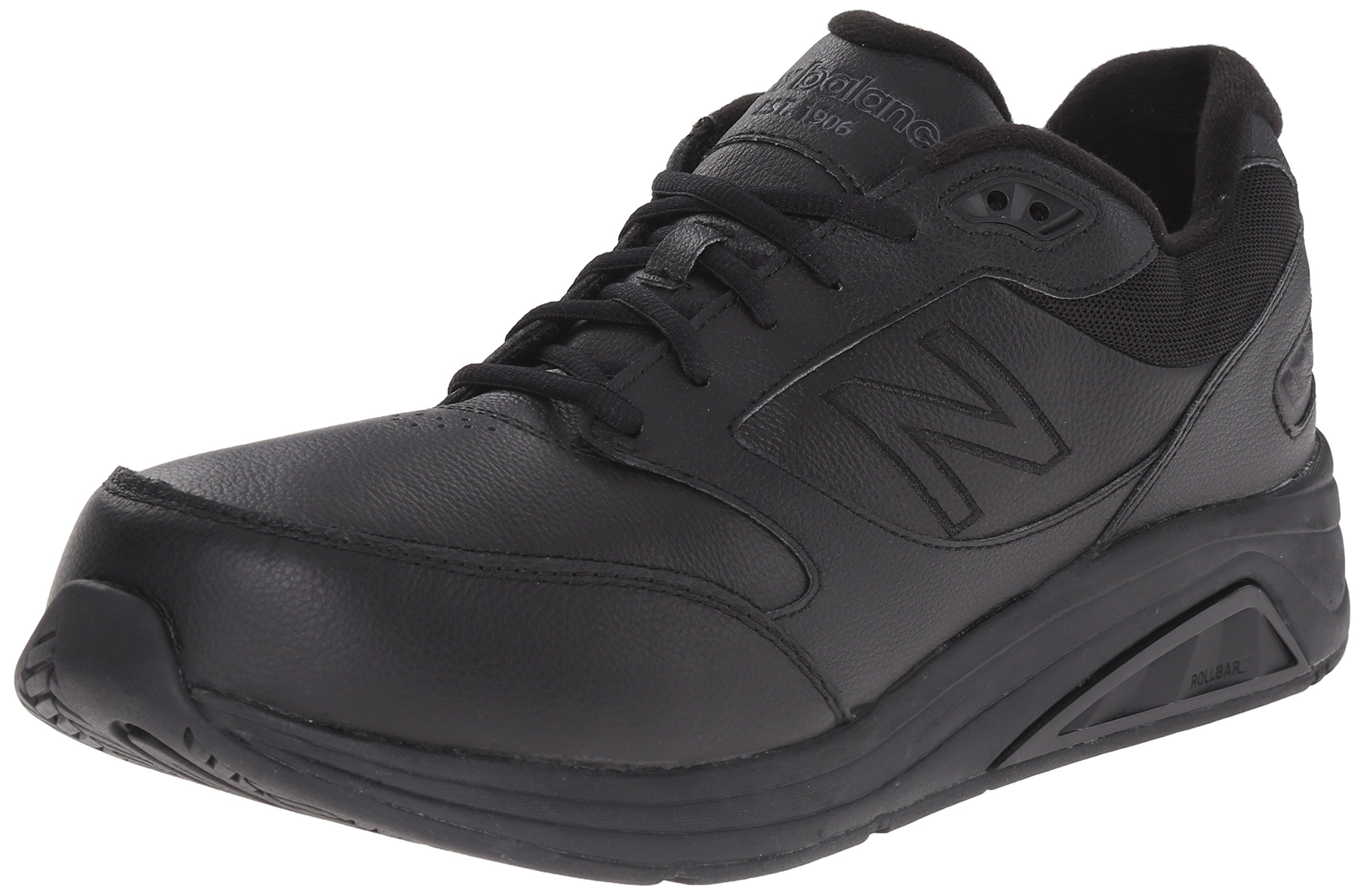 New Balance Men's MW928V2 Walking Shoe,Black,7.5 D US by New Balance