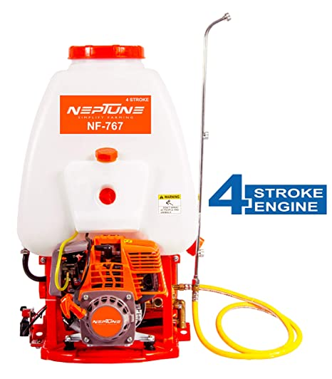 NEPTUNE SIMPLIFY FARMING 20 L Power Sprayer with 4 Stroke Petrol Engine (Output: 6-8 L/min)