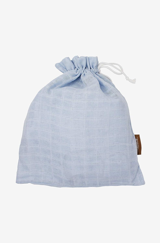 Kadolis Gigoteuse Et/é Mousseline Bleu Pastel 70cm 0-6mois