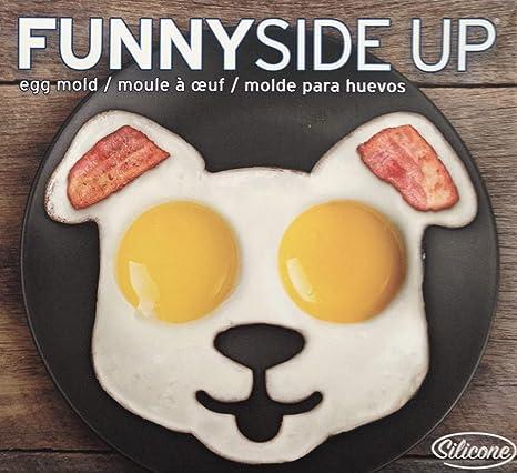 Amazon.com: Huevos de silicona molde redondo – Antiadherente ...