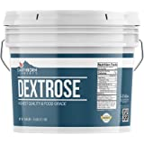 Dextrose Powder, 1 Gallon Bucket by Earthborn Elements, Sugar Substitute, Workout Boost, Natural Energy, Bodybuilding, Weight