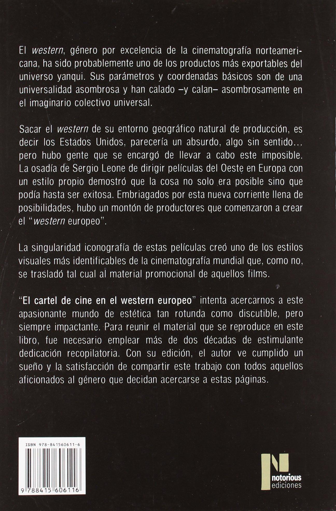El cartel de cine en el western europeo : el spaguetti ...