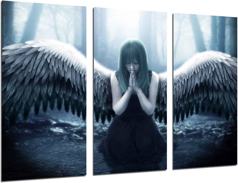 Cuadro Fotográfico Angel Mitologico Tamaño total: 97 x 62 cm XXL