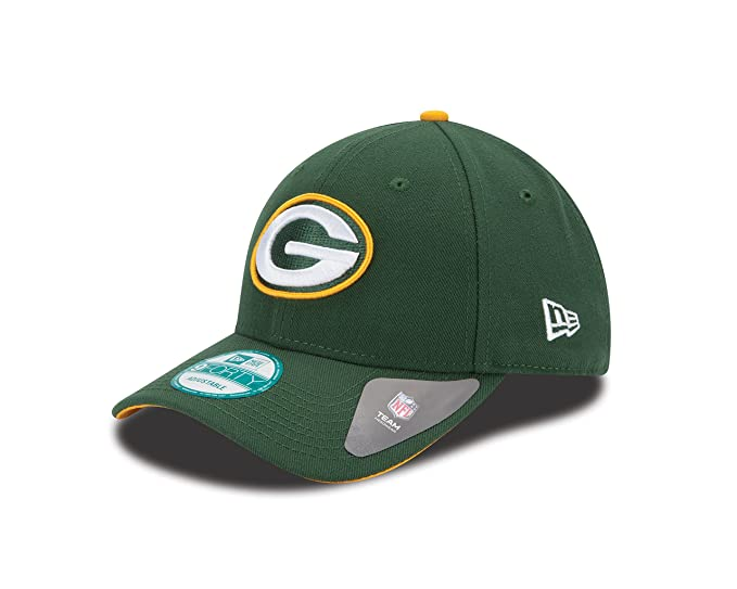 Amazon.com  NFL The League Green Bay Packers 9Forty Adjustable Cap ... 06645378f