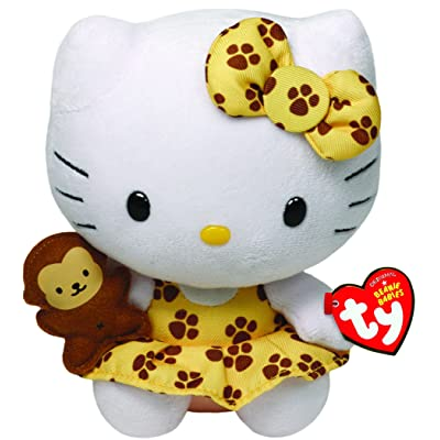 Ty Ty42088 - Peluche - Hello Kitty Safari - Beanie Babies - 15 cm