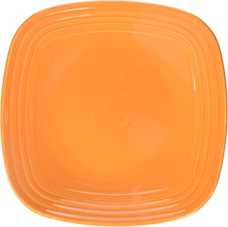 product image for Fiesta 10-3/4-Inch Square Dinner Plate, Tangerine