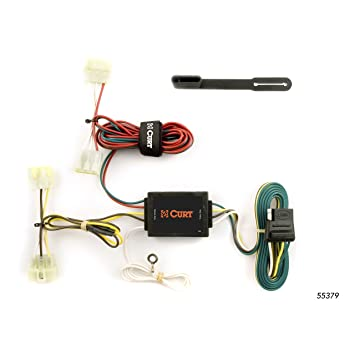 CURT 55379 Vehicle-Side Custom 4-Pin Trailer Wiring Harness for Select on