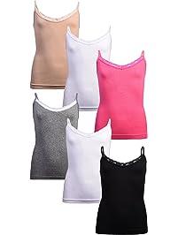 Girl S Undershirts Tanks Camisoles Amazon Com