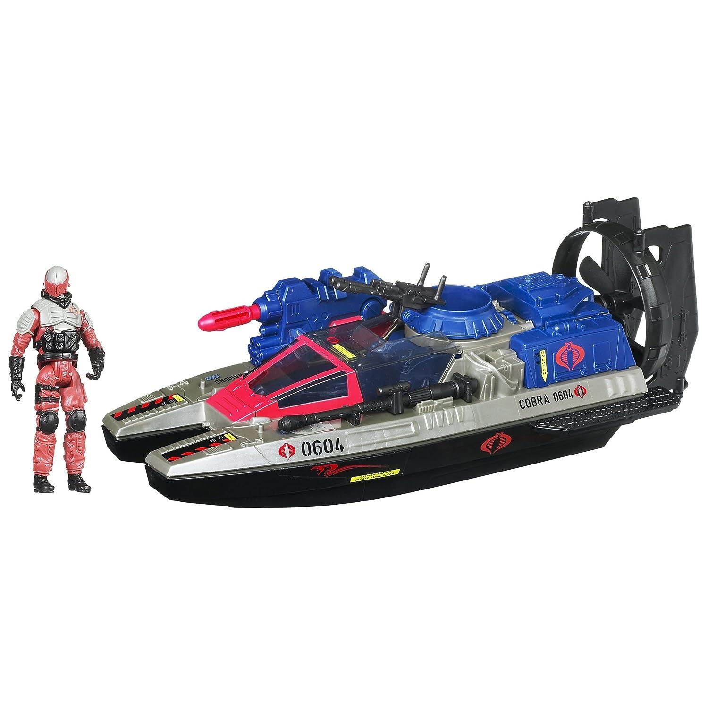 G.I. Joe Cobra Fangboat mit Swamp Viper - Fahrzeug und Figur Set Retaliation von Hasbro 2011