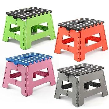 ASAB Folding Step Stool Plastic Small - 150 Kg Capacity  sc 1 st  Amazon UK & ASAB Folding Step Stool Plastic Small - 150 Kg Capacity: Amazon ... islam-shia.org
