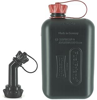 FuelFriend Big transparent  2 L Benzinkanister für Zapfpistole Auslaufrohr