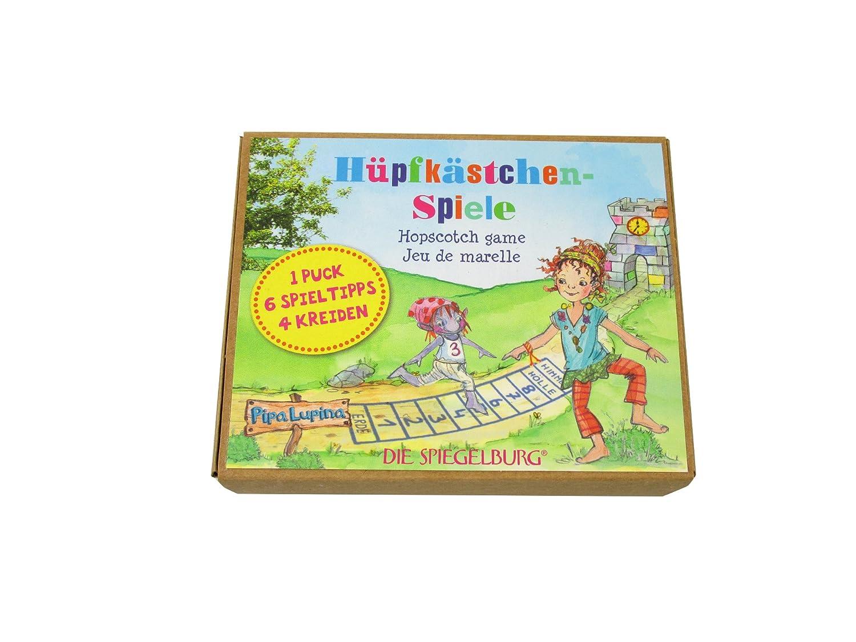 Die Spiegelburg 12677 Hüpfekästchen-Spiele Pipa Lupina