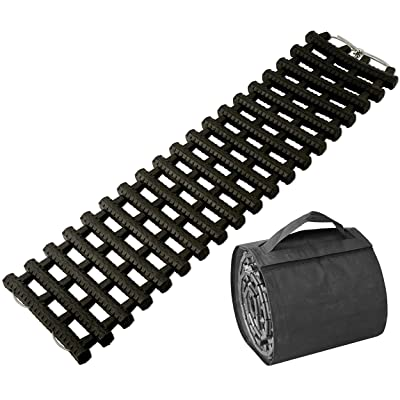 BUNKERWALL One Recovery Track Mat for Ice Snow or Sand Ladder Emergency Traction for Vehicle Tires with Carry Bag: Automotive