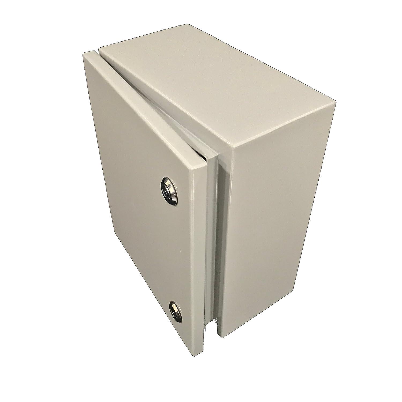 "Stainless steel Electrical Enclosure box waterproof Metal Wall mount 10x12x5.5/"""