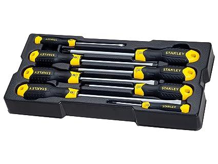Stanley STMT1-74181 - 8 Destornilladores CushionGrip: Amazon.es ...