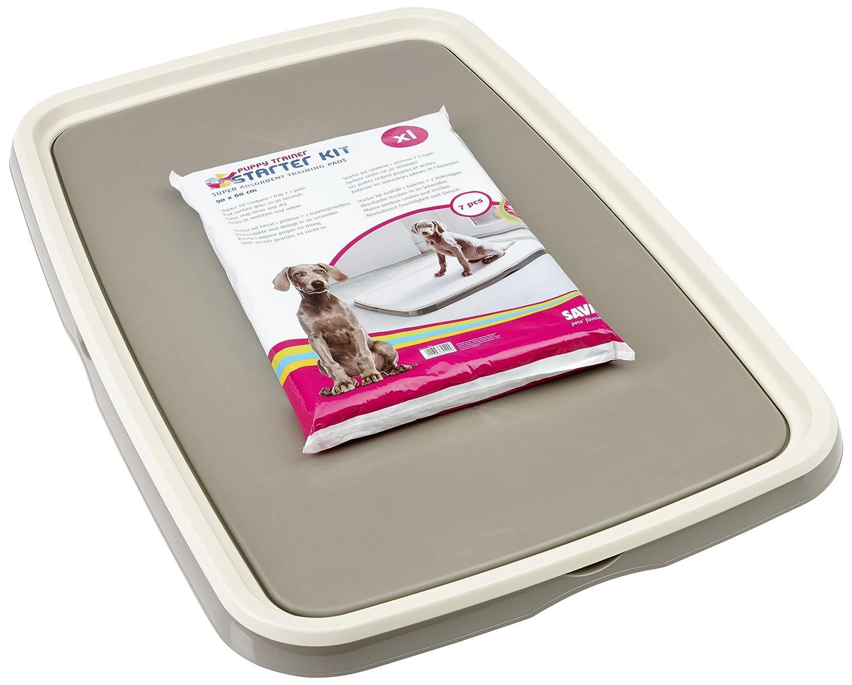 VADIGRAN Savic Kit d'entraînement à la propreté pour Chiot Écru/Gris Clair Taille XL 71-3242-003