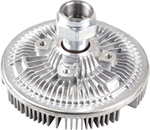 MYSMOT Engine Cooling Fan Clutch for 99-03 Ford Excursion F-250 F-350 F-450 F-550 Super Duty 7.3L Turbo Diesel F81Z8A616-DA 2837
