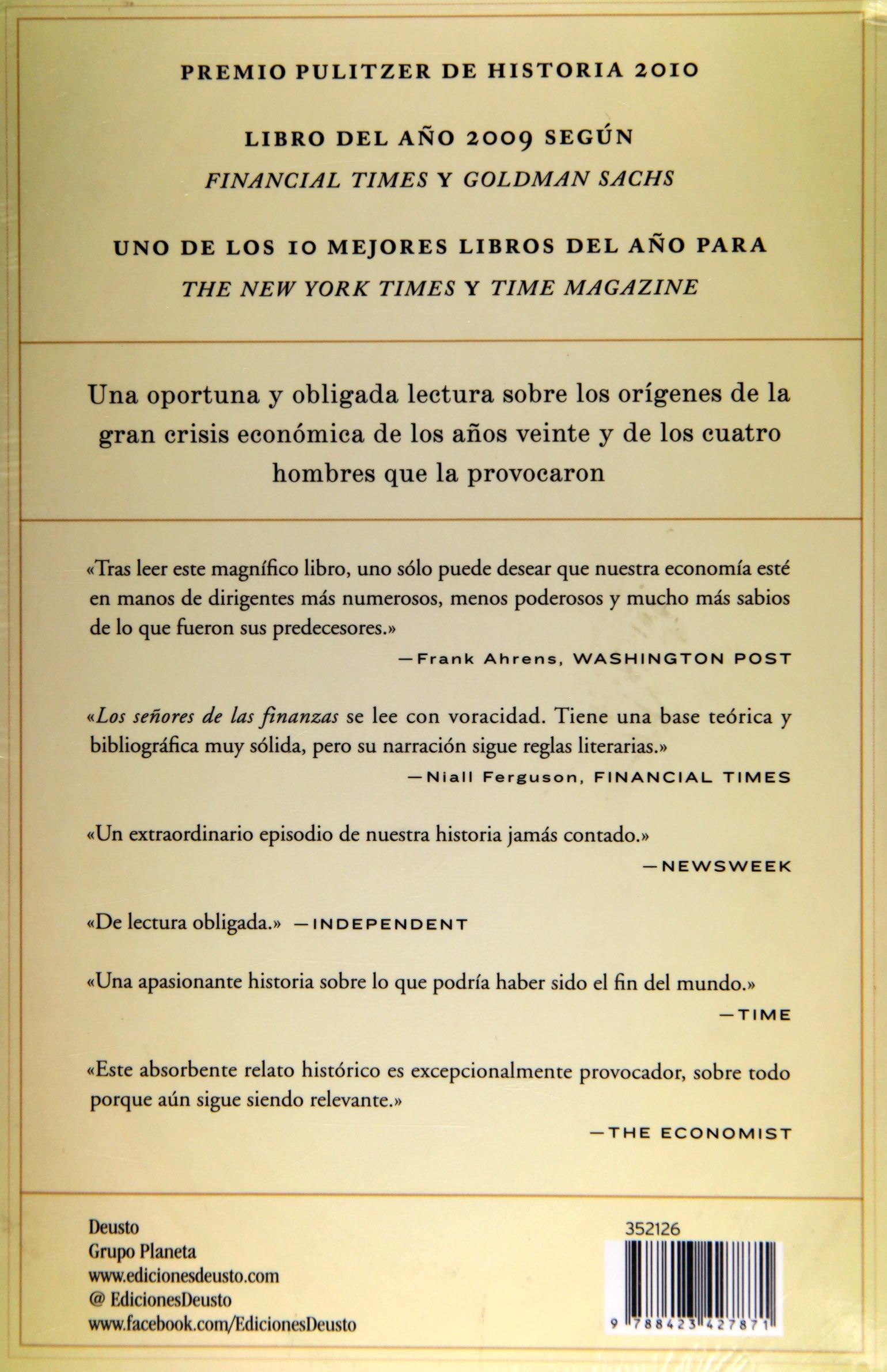 Los senores de las finanzas (Spanish Edition): VV.AA ...