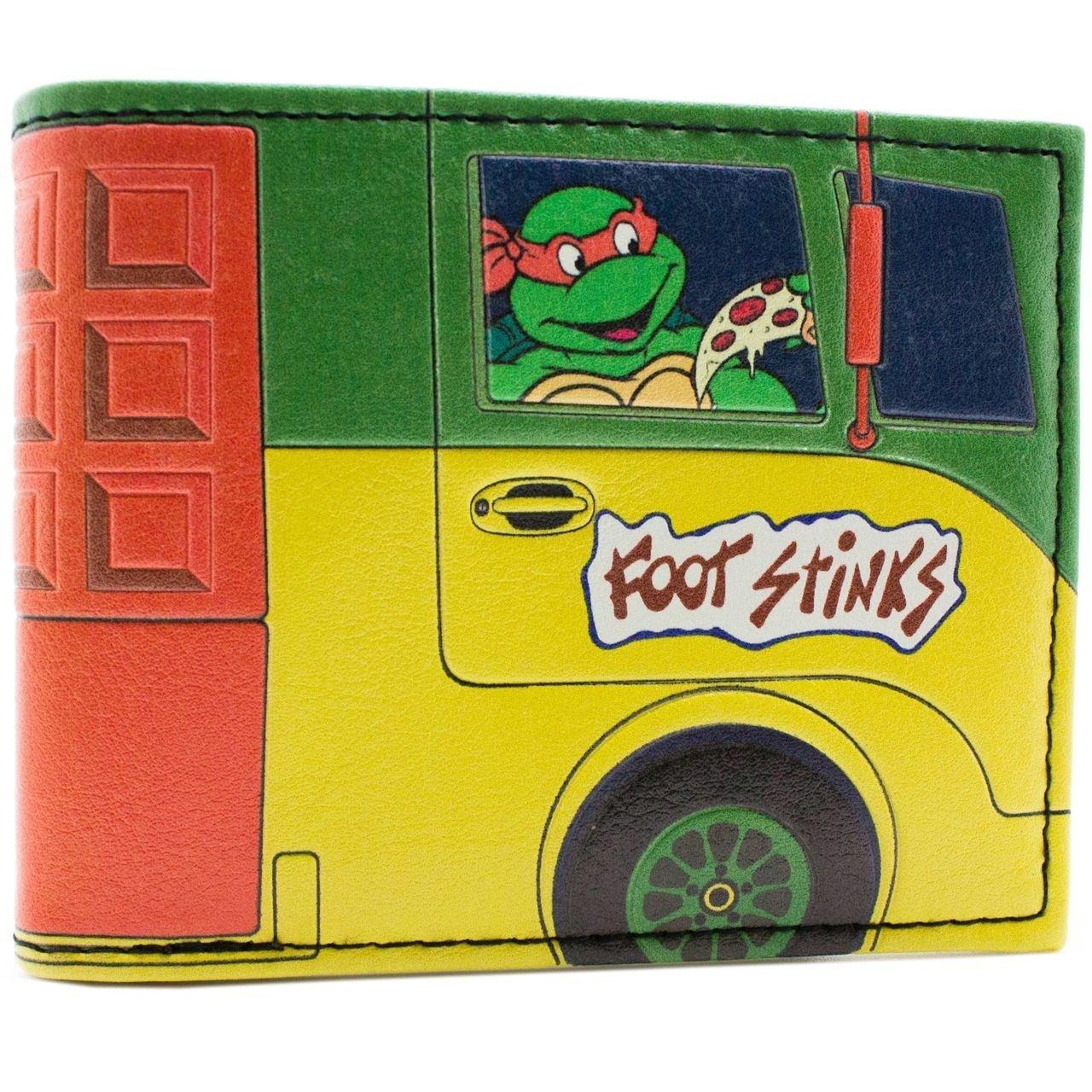 Cartera de Mirage Teenage Mutant Ninja Turtles Van de pizza ...