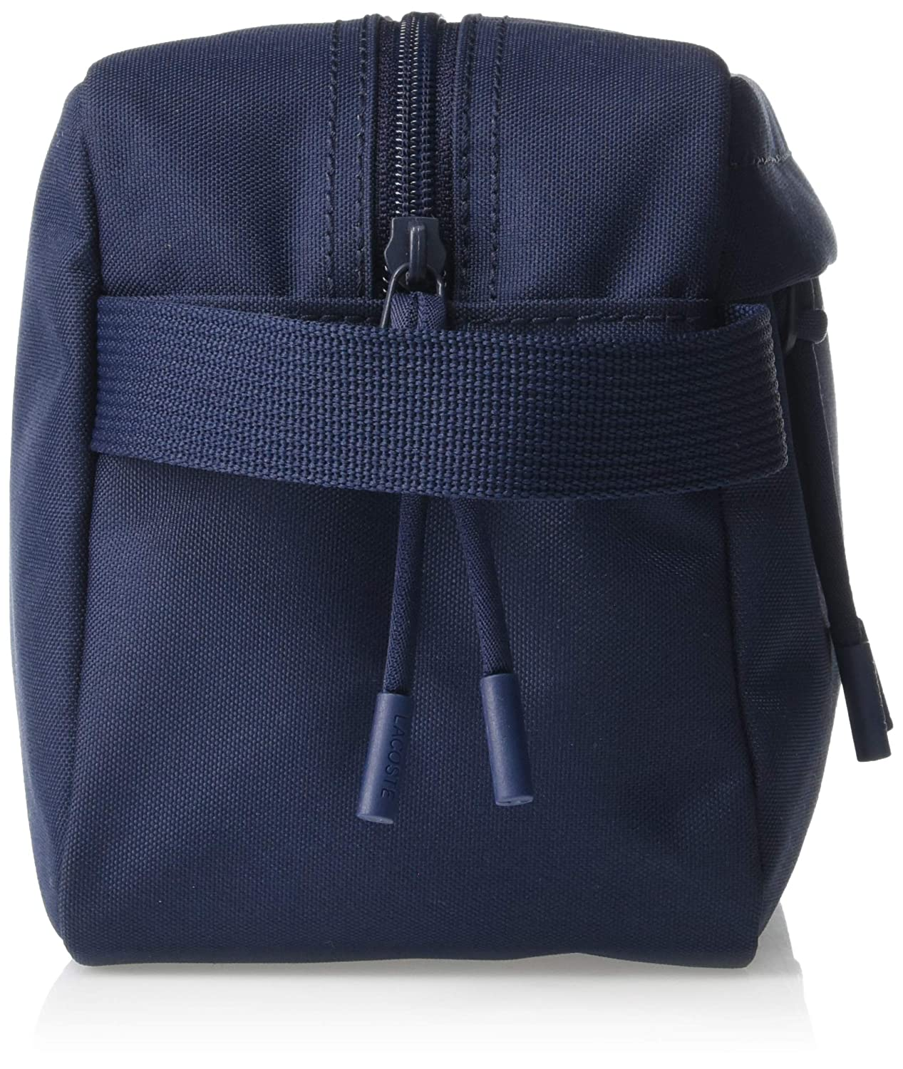 7d48566db7 Amazon.com: Lacoste Men's Solid Toiletry Pouch, peacoat, 00: Clothing