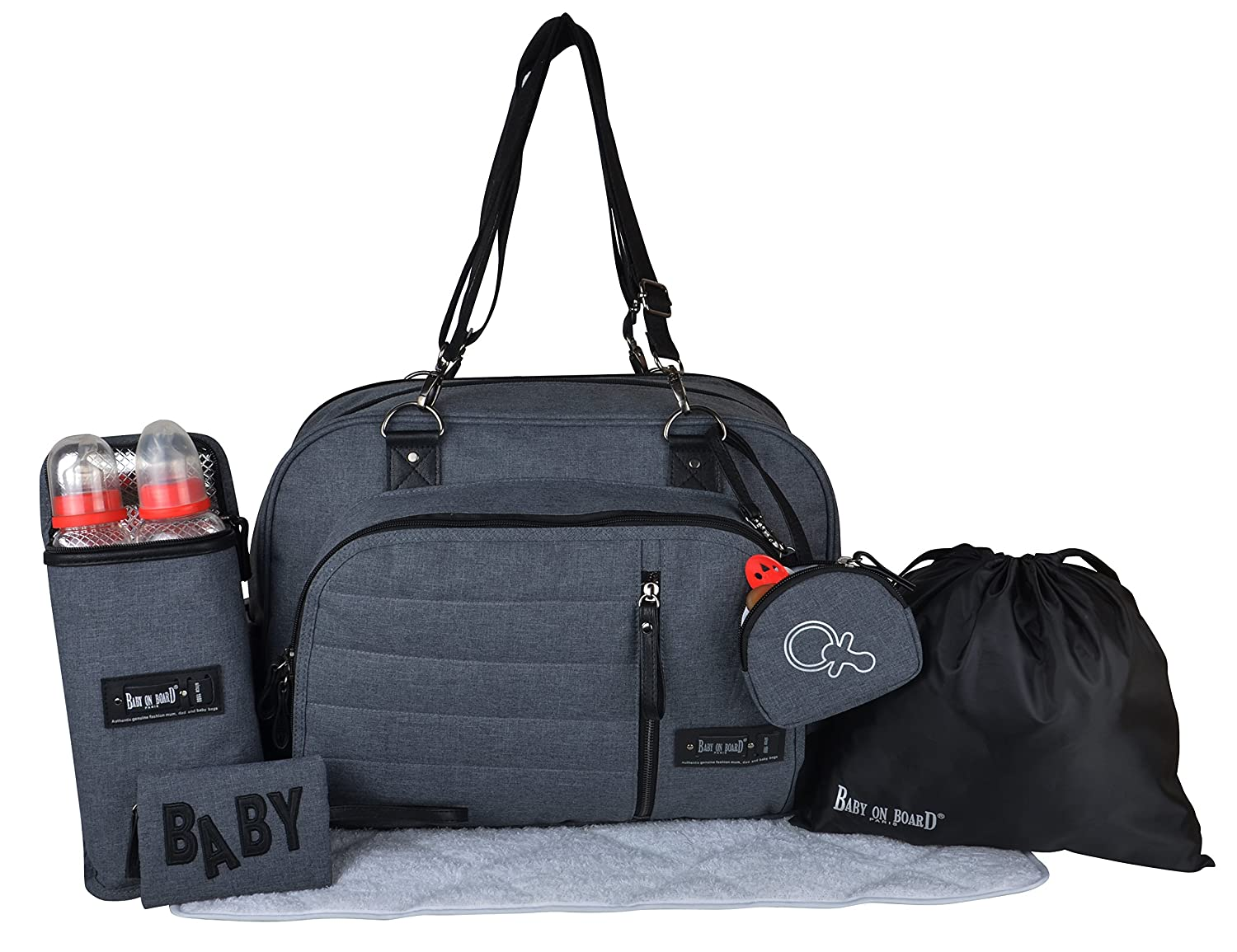 Baby on board 204300_017 Sac Daily Black WEAHG