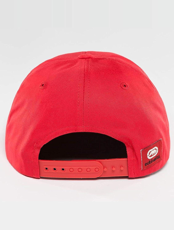 Ecko Unlimited Ushi Red Snapback Cap Basecap OSFA One Size: Amazon ...