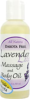 product image for Dakota Free Lavender Lite Massage and Body Oil 4 oz