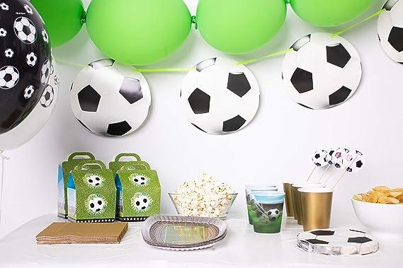 Folat - Paquete de fiesta temática de fútbol para fanáticos ...