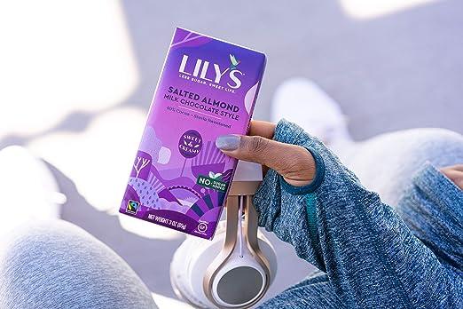 Lilys Sweets - Barra de chocolate con leche y almendras ...