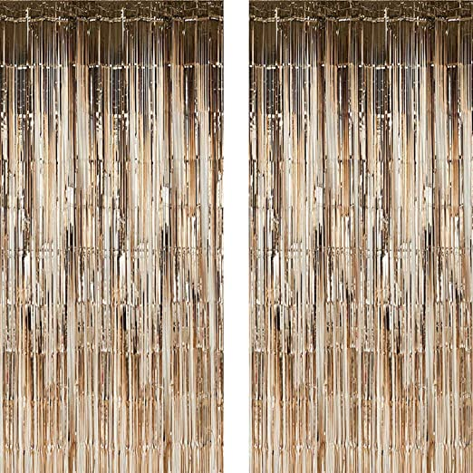 40-Inch x 10-Feet Homeford Foil Photo Backdrop Iridescent White