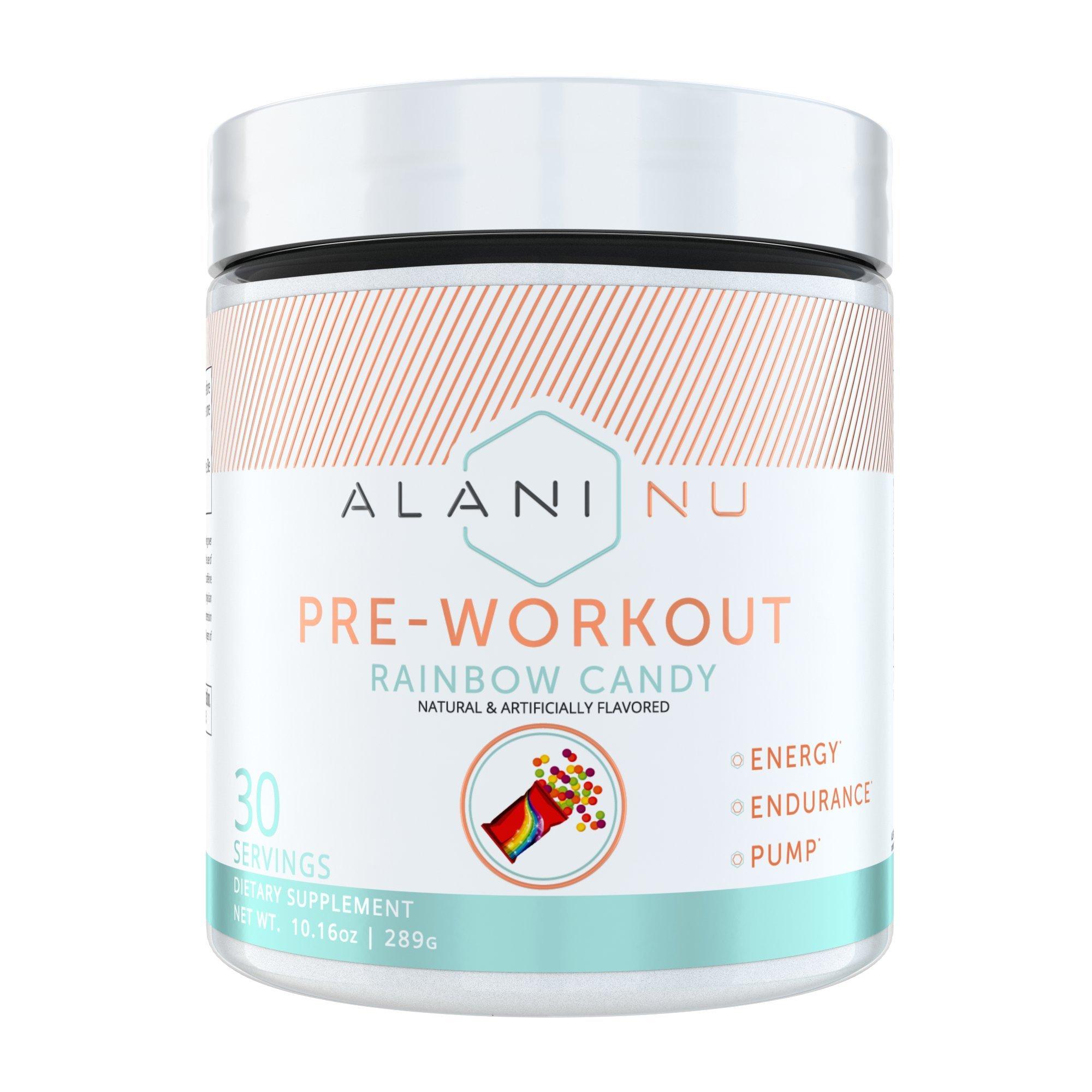 Alani Nu Pre-Workout - Rainbow Candy