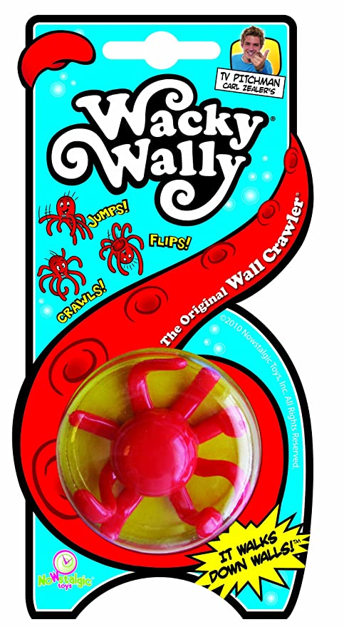amazon com nowstalgic toys wacky wally the original wall crawler