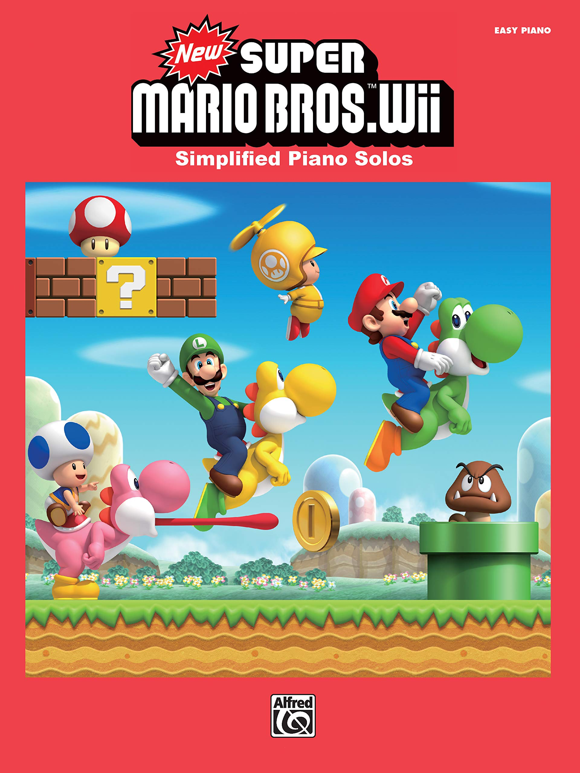 New Super Mario Bros.(TM) Wii: Simplified Piano Solos: Amazon.es: Kondo, Koji, Nagata, Kenta, Fujii, Shiho, Nagamatsu, Ryu: Libros en idiomas extranjeros