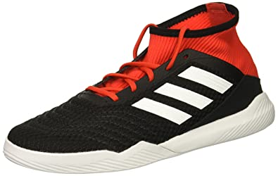 adidas Men s Predator Tango 18.3 Turf Soccer Shoe Black White red 6.5 ... 20b3cf72c53c